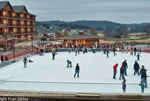 """The Ice at Old Kinderhook / """"The Ice"""" at Old Kinderhook makes the perfect gathering place for all your special occasions! We feature the ONLY ice skating rink at Lake of the Ozarks ... enjoy skating on our 80'x100' rink seven days per week. ~ www.oldkinderhook.com/the-ice.asp"""