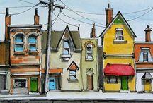 Liner & Watercolors