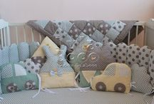 Toys and quilts for babies