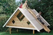 Casette legno bambini giardino