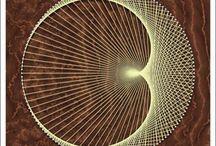 Filografi - String art