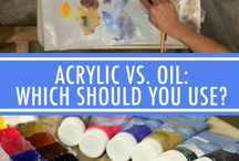 Painting - Oil paint