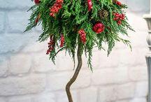 Christmas at Oneiranthi's flowershop