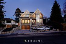 Fancy-Schmancy Home Exteriors / Residential home exteriors.