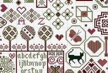 Quaker Style Cross Stitch / by Gettysburg Homestead /Mary