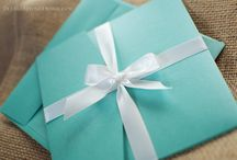 Tiffany Blue Wedding / All things Tiffany Blue to Coordinate with a Tiffany Blue / Breakfast at Tiffany's themed wedding and Bridal shower