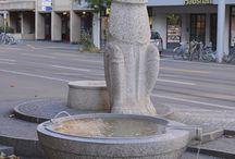 Statuer i Zürich