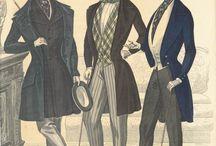 Men`s fashion 1840`s