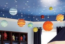 Solar System Bedroom / by Parties By Alex