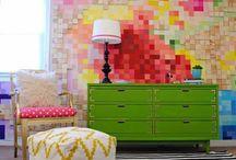 Piksel Piksel Duvar Dekorasyon Fikirleri / Piksel Piksel Duvar Dekorasyon Fikirleri http://www.dekordiyon.com/piksel-piksel-duvar-dekorasyon-fikirleri/ #DuvarDekorasyonFikirleri