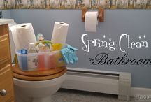 Spring Cleaning / by StuckAtHomeMom.com