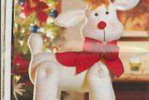 patrones renos navideños