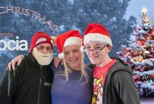 Skocia team / Here are some pictures of us at Christmas and in our workwear