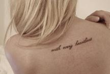 Tattoos / by Jena Brandt