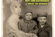 Easter.  Evil Bunnies.. / Fear the bunnies! / by Robert Zenner