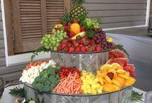 salad decorating