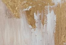 Gold Leaf Paintings DIY