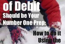 E-Prep: Financial Preparedness / Ideas for getting out of debt, making a budget, planning for your future, etc. / by Food Storage Made Easy (Jodi and Julie)
