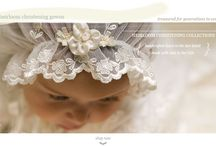 Heirloom Baby Bonnets and Shoes / by Sue McClary