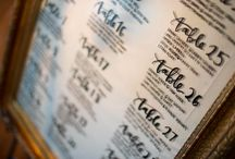 Wedding Reception Signage / Beautifully created wedding reception signage featuring calligraphy designed on all kinds of boards.