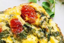 Frittata and quiches