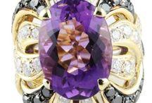Purple Pieces / Purple Jewelry by Lauren B