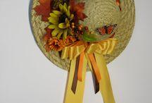 Chapéus floridos !