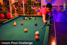 """Xtream Pool Challenge at KEE Drinks / Rain is not our problem. """"Xtream Pool Challenge"""" will start on Tuesday, 11th August 2015 at KEE Drinks from 6 - 8 pm. with Happy Hours """"99THB/cocktail"""" """"And yes, the winner gets free drink"""""""