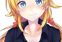 Manga fille et garçon blond ♣