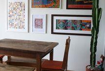 paredes com quadris