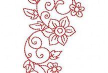 Flores para bordar