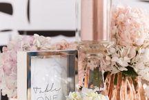 Bronze, Copper, Rose Gold Wedding Details