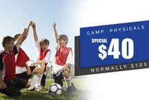 camp physicals