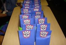 transformers bday Logan / by Angie Mattox-Benson