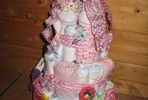 Diaper Cakes / by Pam Pullen