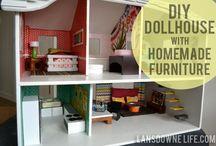 makeover diy doll house