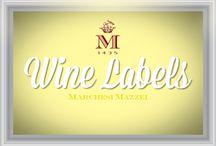 Marchesi Mazzei Wine Labels