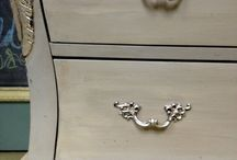Paint and silver dresser / by Tara Flynn