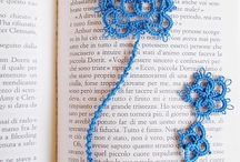 """Celtic bookmark - the motif is from """"Rose & Crown"""" free pattern"""