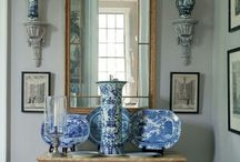 Vignettes / Groupings or arrangement of furniture or interior elements.