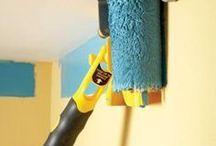 Pittura delle pareti e case