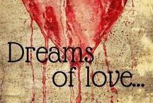 Dreams of Love / «Μη με ρωτήσετε αν υπάρχει έρωτας με την πρώτη ματιά. Δεν ξέρω. Το μόνο που ξέρω είναι πως πάντα με έλκυε και ποτέ δεν θέλησα να τον διεκδικήσω. Ήταν αθεράπευτα γυναικάς, πεισματικά ανώριμος και κάθετα αρνητικός σε οποιαδήποτε μορφή συναισθηματικής δέσμευσης. Τον απέφευγα και με απέφευγε, μέχρι που έγινε το αδιανόητο. Τότε, ναι. Τότε ίσως και να ήταν η πρώτη φορά στη ζωή μου που άρχισα να κάνω όνειρα για την αγάπη.» - Τζίνα.  Book, Romance, Read more on Wattpad: http://my.w.tt/UiNb/vvabDIhjxw