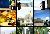 LEGO - Talita goes Mexico! / Lego doll goes Mexico.  Photo fun. LEGO.
