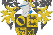 Heraldry, coats of arms / My style as a heraldic artist is clear, simbolic and methodic. Clear because my work searches pieces which transmit energy and vital force to the owner, I think that a coat of arms should be a source of light and joy and an expression of freedom. Symbolic because coats of arms must be a representation of its bearer, his/her ideals, motivations, history and anything he/she might want to display. Methodical because heraldic art is founded on a science, the so called science of heraldry.
