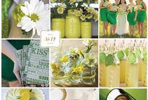 Green/ Emerald/ Forest/ Kiwi/ Mint Weddings / Various Green Palettes/ Various Green Color Combinations #GreeWeddingColors
