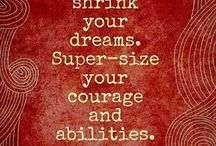 Quotes & Inspiration / A little motivation to kickstart the day or end one on a good note!