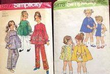 Sewing: Patterns-Vintage