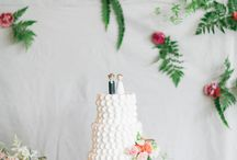 Sweet Treats / This board showcases some of our favorite cakes + other sweets from En Vogue weddings.