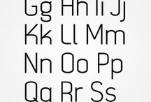 Glyph arranging (Type) / typography
