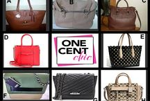 Super Tuesday Designer Choice Auction July 15 / Auction Winner Chooses from One of these designer bags tonight at  OneCentChic.com 10 PM et